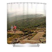 Cadillac Mountain View Shower Curtain