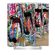 Cadillac Style Shower Curtain