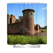 Caerlaverock Castle, Scotland Shower Curtain