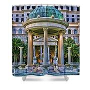 Caesar Columns Shower Curtain