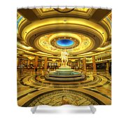 Caesar's Grand Lobby Shower Curtain