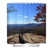 Caesars Head State Park Shower Curtain