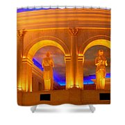 Caesar's Lobby - A C Shower Curtain