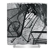 Cafe 1 Shower Curtain