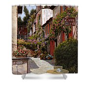 Cafe Bifo Shower Curtain