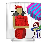 Cafe Chic Shower Curtain