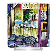 Cafe Joul Shower Curtain