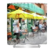 Cafe Pizzaria Shower Curtain