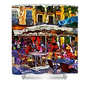 Cafe Provence Shower Curtain