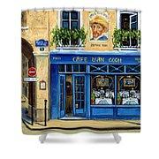 Cafe Van Gogh II Shower Curtain