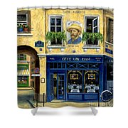Cafe Van Gogh Shower Curtain