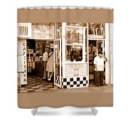 Cafecito Shower Curtain