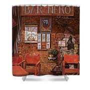 caffe Nero Shower Curtain