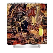 Caged Luxury Syndrome   Shower Curtain