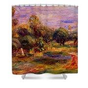Cagnes Landscape 1908 Shower Curtain