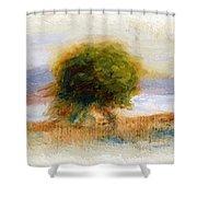 Cagnes Landscape 1910 Shower Curtain