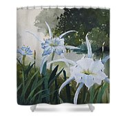 Cahaba Lilies Shower Curtain
