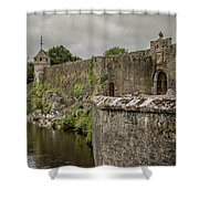 Cahir Castle 1384 Shower Curtain