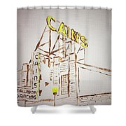 Cain's Shower Curtain