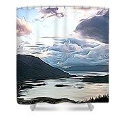 Cairngorms Shower Curtain