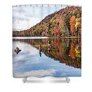 Cairns On Moss Lake Shower Curtain