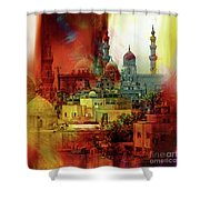 Cairo Egypt Art 01 Shower Curtain