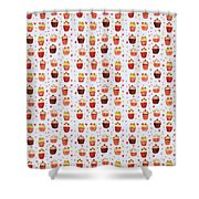 Cakes Jp04 Shower Curtain