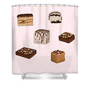 Cakes De02 Shower Curtain