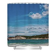 Cala Galdana Bay Menorca Shower Curtain