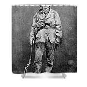 Calamity Jane (1852-1903) Shower Curtain