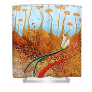 Calas For You Shower Curtain