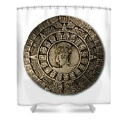 Calendar Shower Curtain