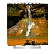 Calf Creek Falls Utah Shower Curtain