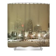 Calgary Alberta 2 Shower Curtain