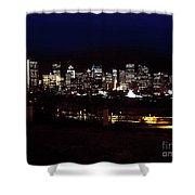 Calgary Skyline 2016 Shower Curtain