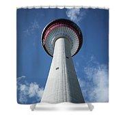 Calgary Tower Shower Curtain