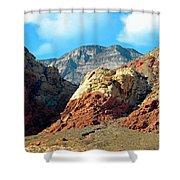 Calico Basin Nevada Shower Curtain