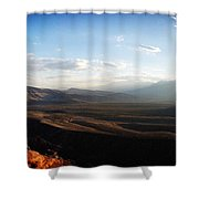 Calico Tanks Shower Curtain