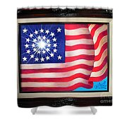 California 31st State. Superstar  Shower Curtain