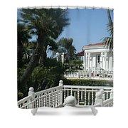 California Balcony Shower Curtain
