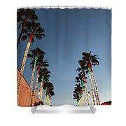 California Christmas #1 Shower Curtain
