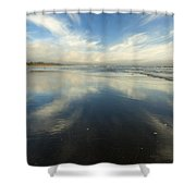 California Cirrus Explosion Shower Curtain