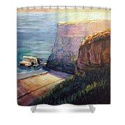 California Cliffs Shower Curtain