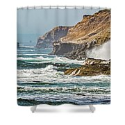 California Coasr Shower Curtain