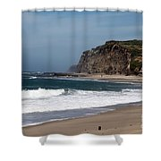 California Coast - Blue Shower Curtain
