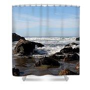 California Coast 11 Shower Curtain