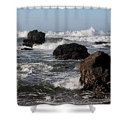 California Coast 18 Shower Curtain