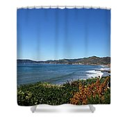 California Coast Line - Pismo Beach Shower Curtain