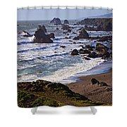 California Coast Sonoma Shower Curtain