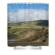 California Countryside Photograph Shower Curtain